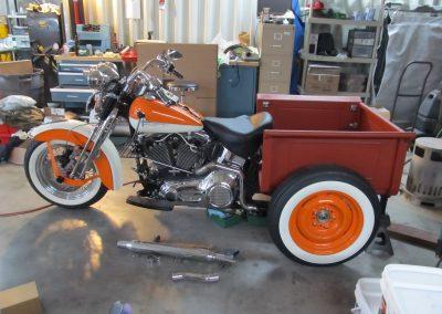 Glide-Pro Motor Mounts & Cafe Fairings for Harley Davidson